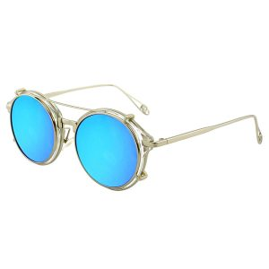 steampunk glasses with tinted lenses